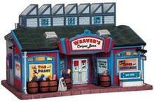 95823 - Weavers Carpet Barn - Lemax Harvest Crossing Christmas Houses & Buildings