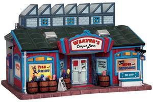 95823 - Weavers Carpet Barn - Lemax Harvest Crossing Christmas Houses & Buildings