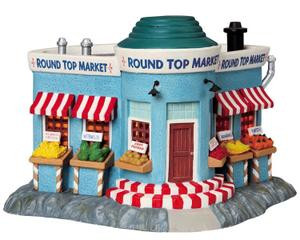 95835 - Round Top Market - Lemax Harvest Crossing Christmas Houses & Buildings