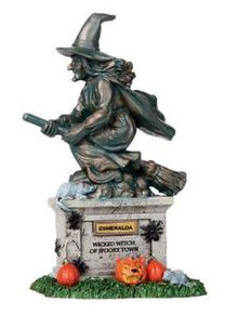 04153 - Witch Statue - Lemax Spooky Town Accessories