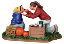 12892 - Face Painting - Lemax Christmas Village Figurines