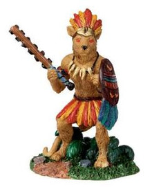 02770 - Jaguar Warrior - Lemax Spooky Town Figurines
