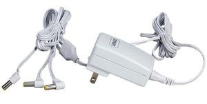 74706 -  Power Adaptor, 4.5v, White, 3-Output, UL/CUL - Lemax Christmas Village Electrical Accessories