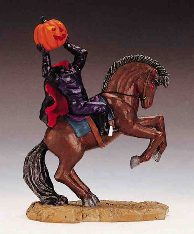 22592 -  Headless Rider - Lemax Spooky Town Halloween Village Figurines