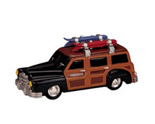 84834 -  Beach Wagon - Lemax Trains & Vehicles;Lemax Misc. Accessories