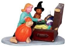 42211 - Costume Kitties  - Lemax Spooky Town Halloween Village Figurines