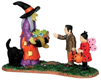 42212 - Scary Candy  - Lemax Spooky Town Halloween Village Figurines