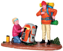 42264 - All Geared Up  - Lemax Christmas Village Figurines
