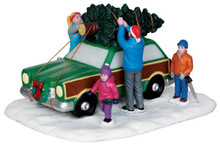 43081 - Christmas Tree Transport  - Lemax Christmas Village Table Pieces