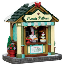 43101 - French Pastries Stand  - Lemax Christmas Village Table Pieces
