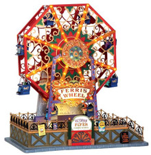 34618 - Victorian Flyer Ferris Wheel, with 4.5v Adaptor  - Lemax Carnival Series
