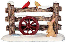 44760 - Rustic Wood Fence - Lemax Christmas Village Misc. Accessories