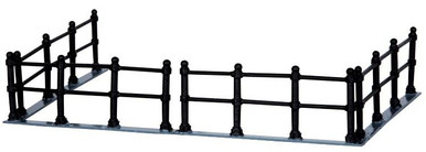 44789 - Canal Fence, Set of 4 - Lemax Christmas Village Misc. Accessories