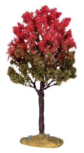 44798 - Black Tupelo Tree, Medium - Lemax Christmas Village Trees
