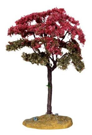 44802 - Linden Tree, Small - Lemax Christmas Village Trees