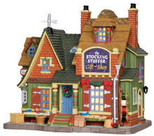 25416 - The Stocking Stuffer Gift Shop  - Lemax Caddington Village Christmas Houses & Buildings