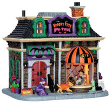45668 - Spooky Pets Boo-Tique  - Lemax Spooky Town Halloween Village Houses & Buildings
