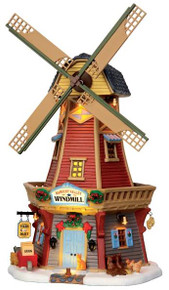 45678 - Harvest Valley Windmill, with 4.5v Adaptor  - Lemax Harvest Crossing Christmas Houses & Buildings