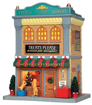 45698 - Treats Please Bakery  - Lemax Caddington Village Christmas Houses & Buildings