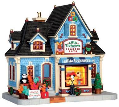 45705 - Little Treasures Classic Toys  - Lemax Caddington Village Christmas Houses & Buildings