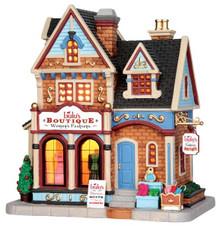45715 - Lulu's Boutique  - Lemax Caddington Village Christmas Houses & Buildings