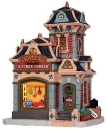 45736 - Kate's Kitchen Corner  - Lemax Caddington Village Christmas Houses & Buildings