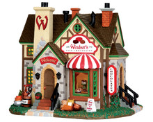35595 - Fine Chocolate Shop - Lemax Vail Village Christmas Houses & Buildings