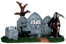 43102 - Grim Reaper Countdown - Lemax Spooky Town Accessories
