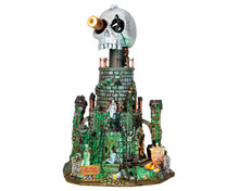 45672 - Mt. Gloom Observatory, with 4.5v Adaptor - Lemax Spooky Town Houses