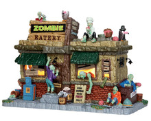 45673 - Zombie Eatery - Lemax Spooky Town Houses