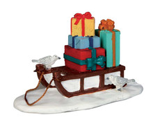 54937 - Sled with Presents - Lemax Misc. Accessories