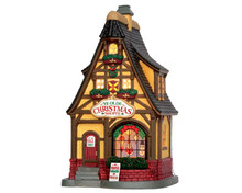 55902 - Ye Olde Christmas Shoppe - Lemax Caddington Village Christmas Houses & Buildings