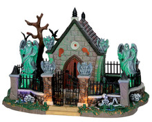 55907 - Graveyard Scene, with 4.5v Adaptor - Lemax Spooky Town Houses