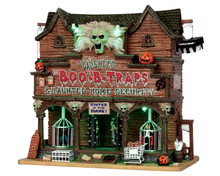 55912 - Banshee's Boo-B-Traps, with 4.5v Adaptor - Lemax Spooky Town Houses