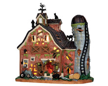 55916 - Dilapidated Barn - Lemax Spooky Town Houses