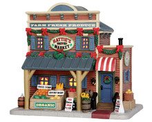 55931 - Hattie's Market - Lemax Harvest Crossing Christmas Houses & Buildings