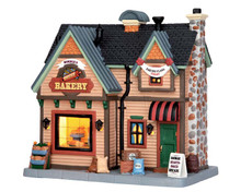 55934 - Bonnie's Bread Bakery - Lemax Harvest Crossing Christmas Houses & Buildings