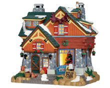 55939 - Antler Peak Cabin - Lemax Vail Village Christmas Houses & Buildings