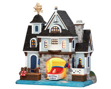 55946 - Boathouse - Lemax Plymouth Corners Christmas Houses & Buildings