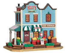 55948 - Kelly's Corner Grocery - Lemax Harvest Crossing Christmas Houses & Buildings