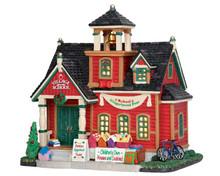 55949 - School Gingerbread Fest - Lemax Caddington Village Christmas Houses & Buildings