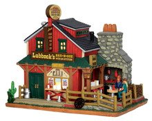 55950 - Lubbock's BBQ - Lemax Harvest Crossing Christmas Houses & Buildings