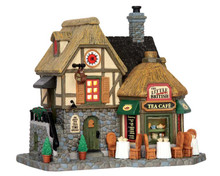 55952 - The Little British Tea Café - Lemax Caddington Village Christmas Houses & Buildings