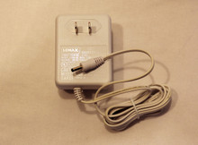 99903 - Cannibalized 9-Volt Adapter, White - Lemax Electrical Accessories