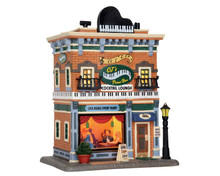 55982 - CJ's Piano Bar - Lemax Caddington Village