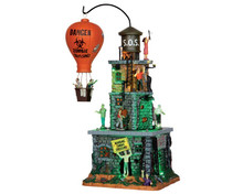 55998 - Zombie Fortress, with 4.5-Volt Adaptor - Lemax Spooky Town Houses