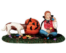 62429 - Candy Thief - Lemax Spooky Town Figurines