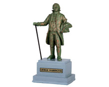 64076 - Park Statue – George Washington - Lemax Misc. Accessories