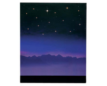 64078 - Starry Night Background, Battery-Operated (4.5 Volts) - Lemax Landscape