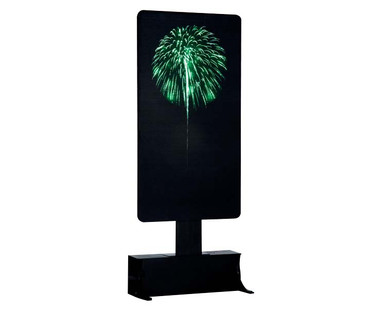 64080 - Green Fireworks, Battery-Operated (4.5 Volts) - Lemax Landscape